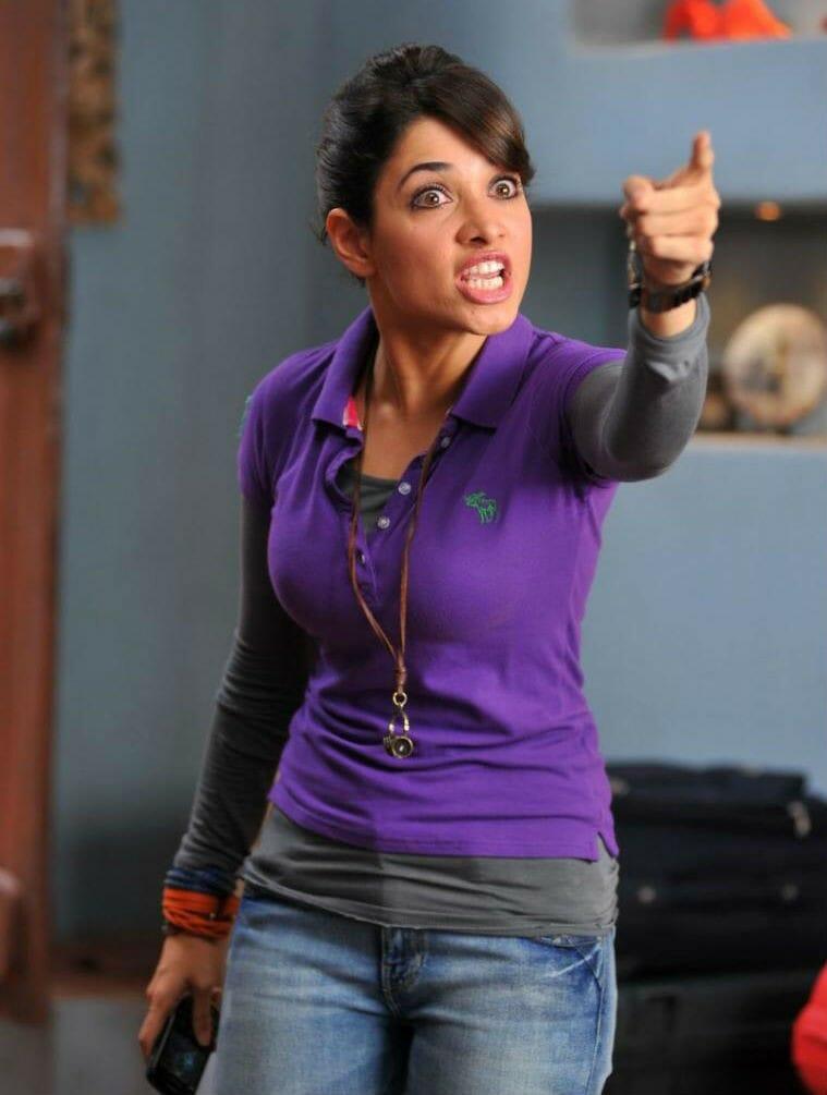 Tamanna shows her rage