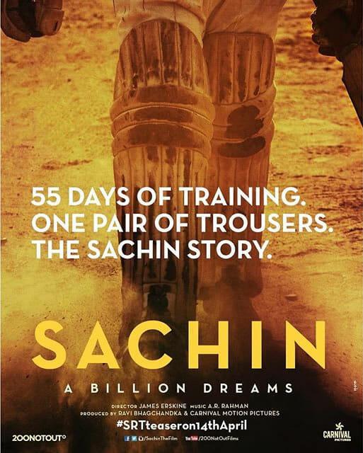 Sachin Tendulkar Biopic Poster