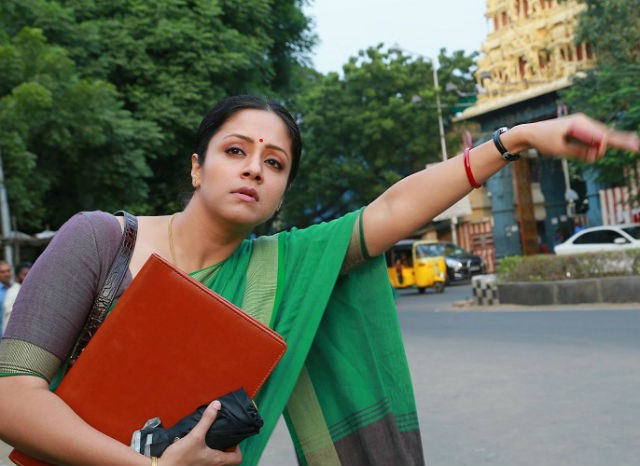 actress jyothika - Why Jyothika dubbed in her voice for Magalir Mattum?