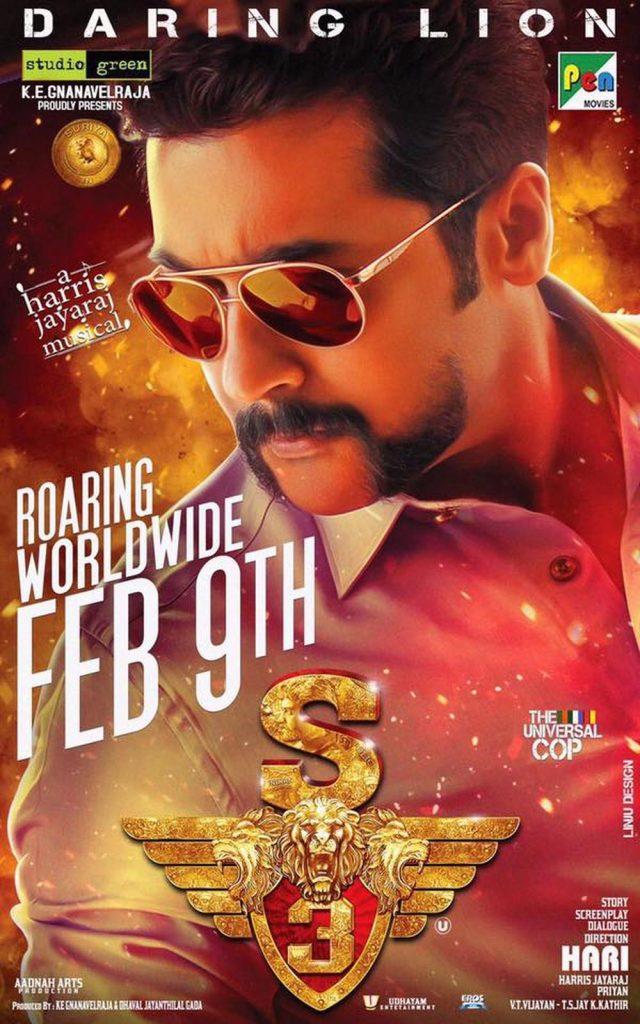 Singam 3 (C3) Poster