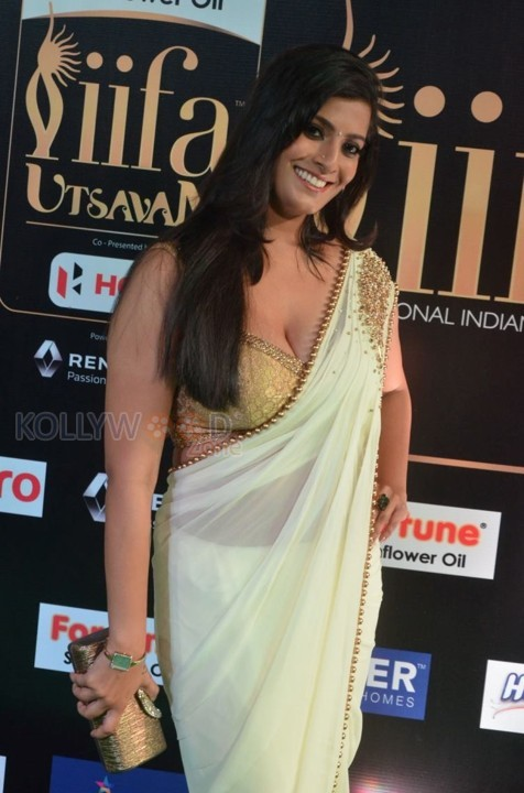 Varalakshmi Sarathkumar Hot Cleavage Photos at IIFA Utsavam 2017