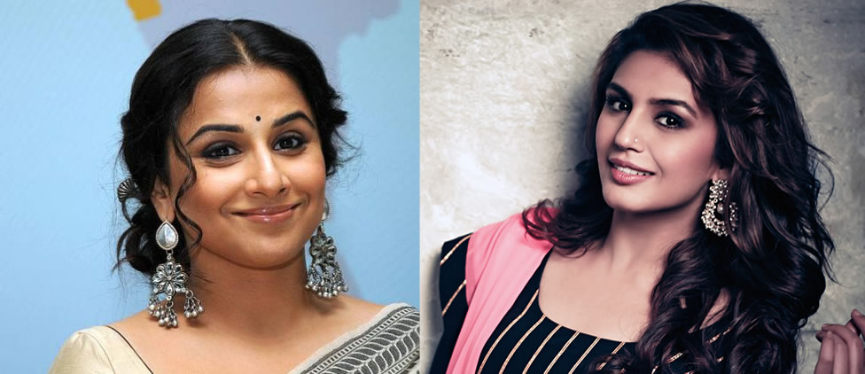 Vidya Balan and Huma Qureshi