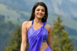 Actress Kajal Agarwal Sexy Navel