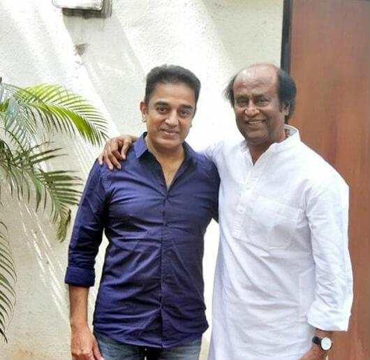 Kamal, Rajini Congratulate Each Other