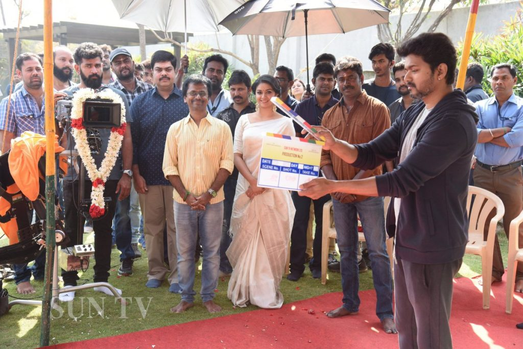 Thalapathy 62 Shooting Starts