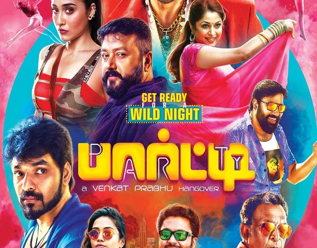 party - Venkat Prabhu's 'Party' is all set for release!
