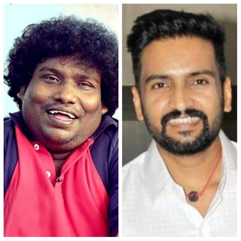 Yogi Babu and Santhanam