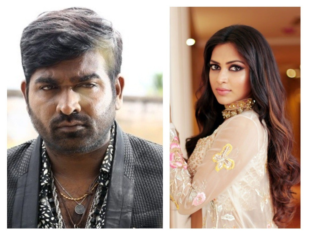 Vijay Sethupathi and Amala Paul