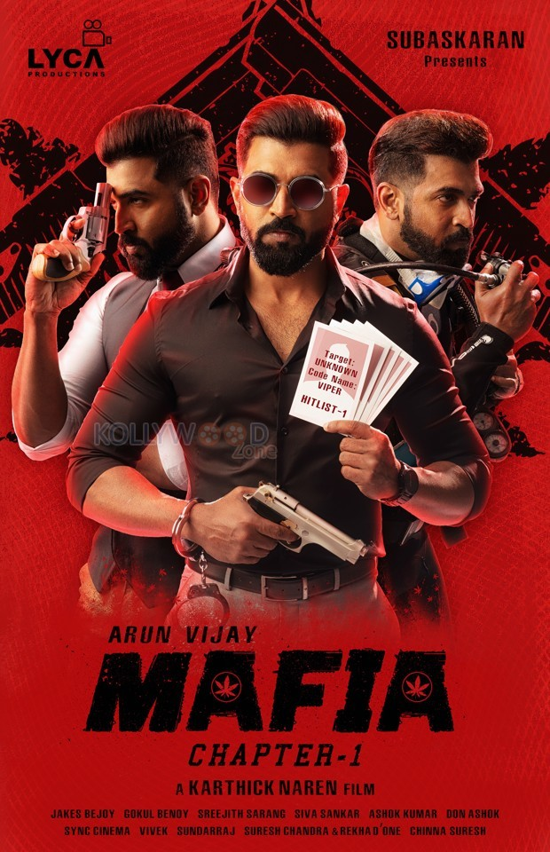 Arun Vijay's Mafia Poster
