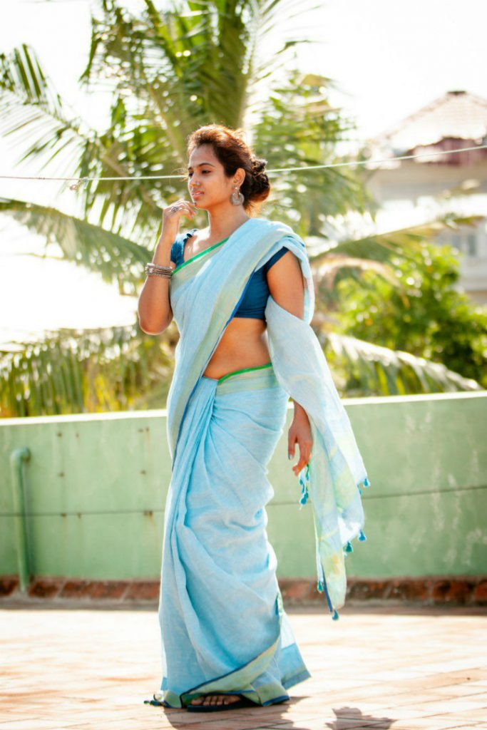 ramya pandian hot saree photo shoot 683x1024 - Ramya Pandian's hot saree photo shoot turns viral!