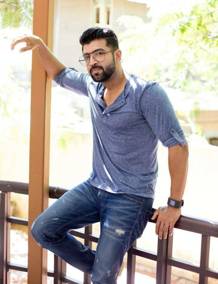 Actor Arun Vijay