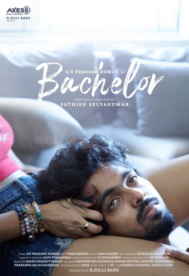 bachelor first look poster 01 - G. V. Prakash Kumar's next project title unveiled with a hot first look!