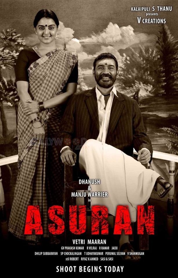 Asuran - Dhanush and Manju Warrier