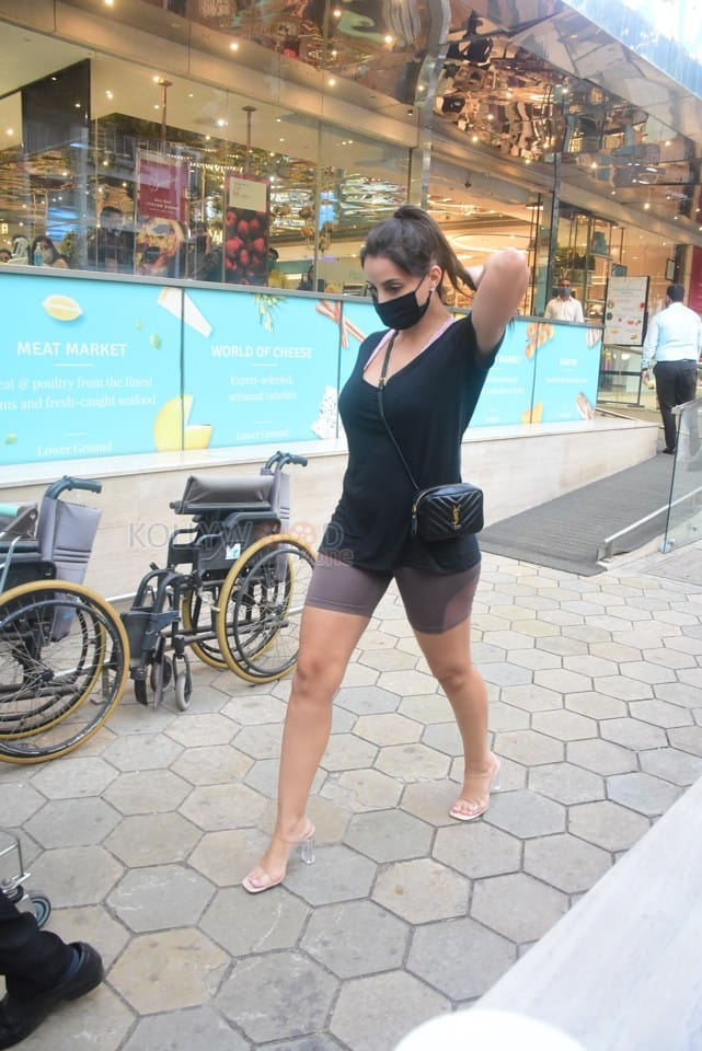 Nora Fatehi spotted at Foodhall in Bandra Pictures