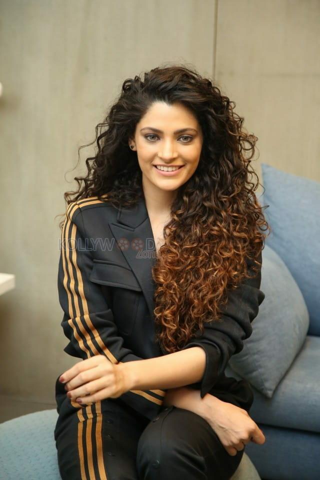 Actress Saiyami Kher at Wild Dog Movie Interview Pictures