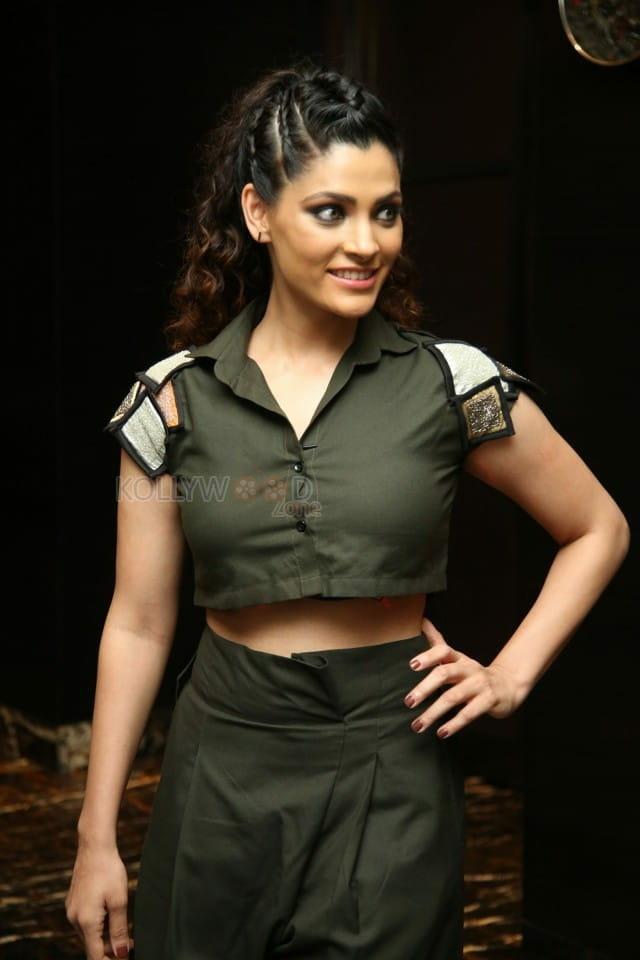 Actress Saiyami Kher at Wild Dog Movie Pre Release Event Photos