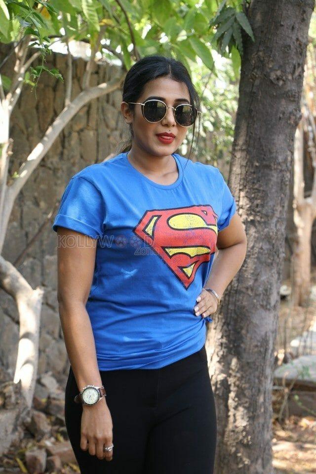 Actress Shilpa Manjunath Photos At Ispade Rajavum Idhaya Raniyum Success Meet