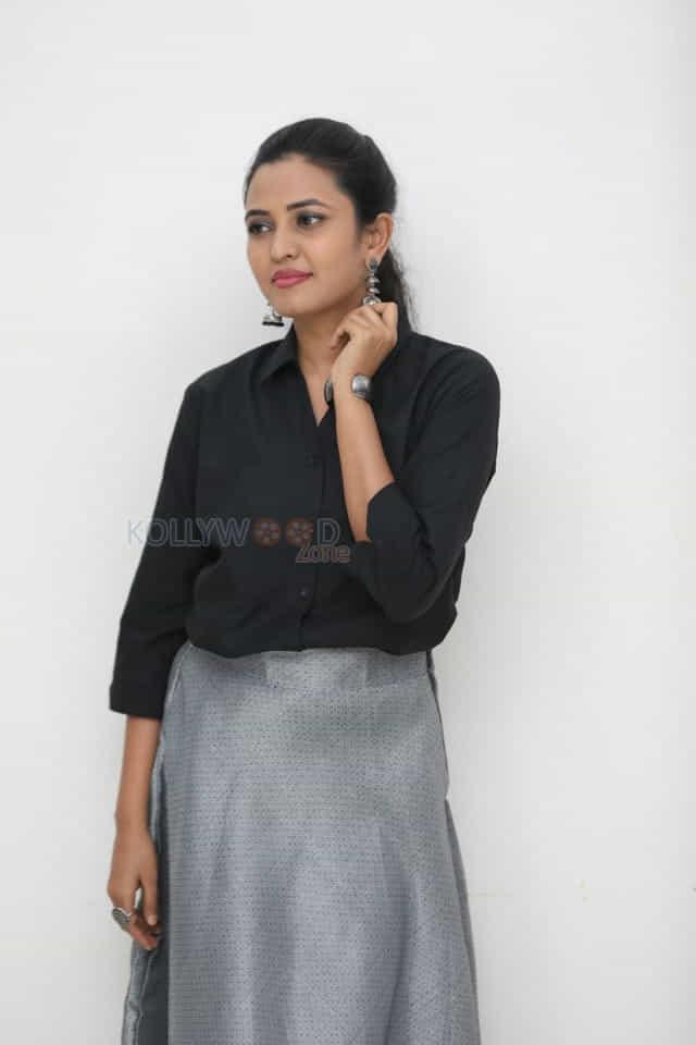 Actress Sunita Sadguruu at Brand Diaries Movie Press Meet Photos