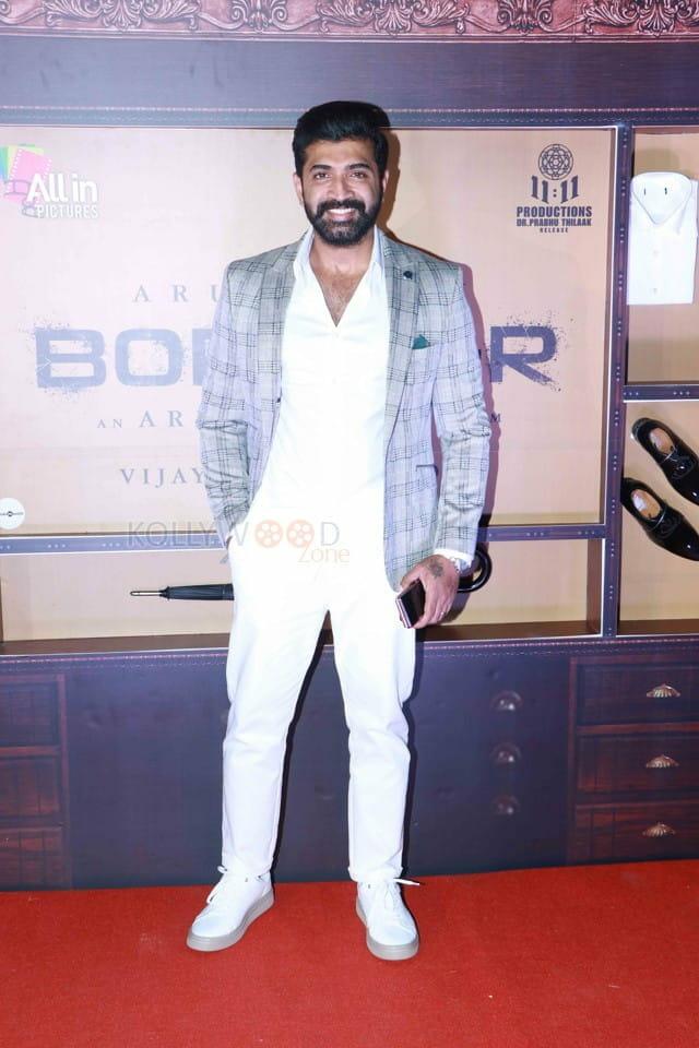 Arun Vijay at Borrder Movie Launch