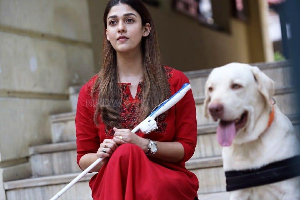 Lady Superstar Nayanthara in Netrikanna Movie Pictures