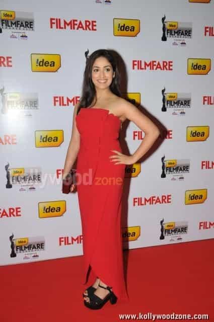 Yami Gautam At Th Idea Filmfare Awards Photos