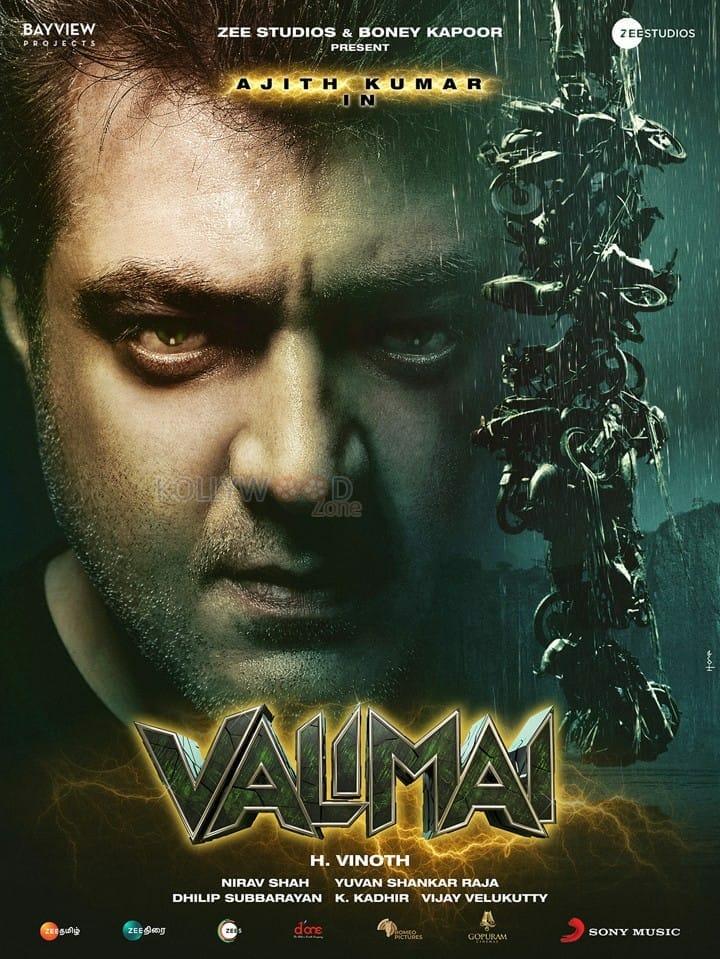 Valimai English Poster