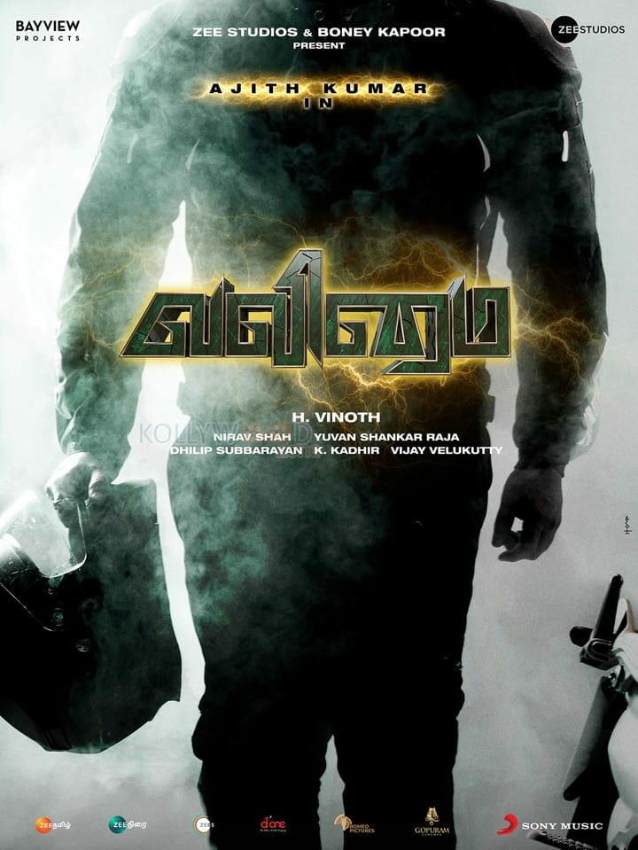 Valimai Tamil Poster