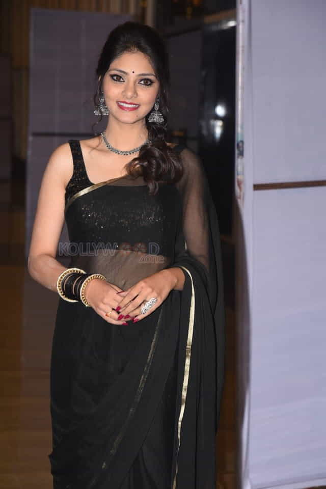 Actress Rahasya Gorak At Raja Vaaru Rani Gaaru Pre release Event Photos
