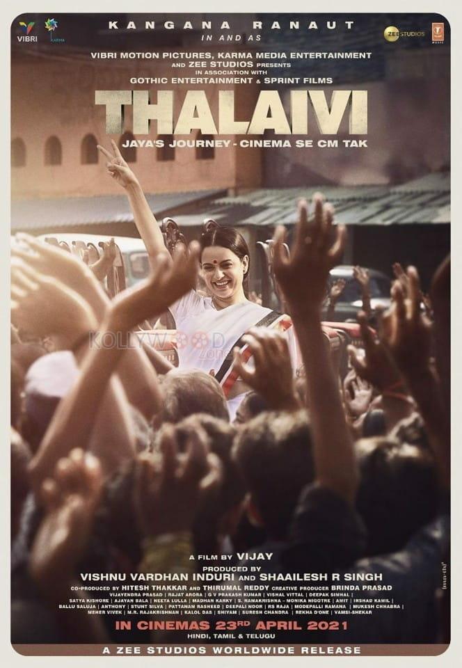 Thalaivi Movie Posters 01