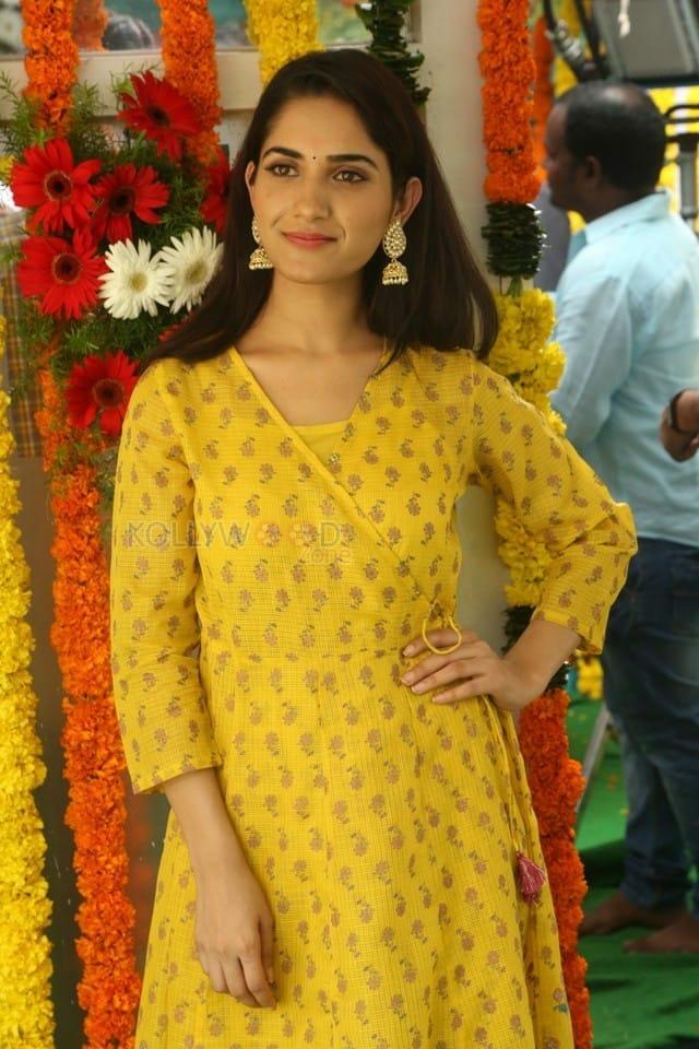 Actress Ruhani Sharma At Chi La Sow Movie Opening Photos 11