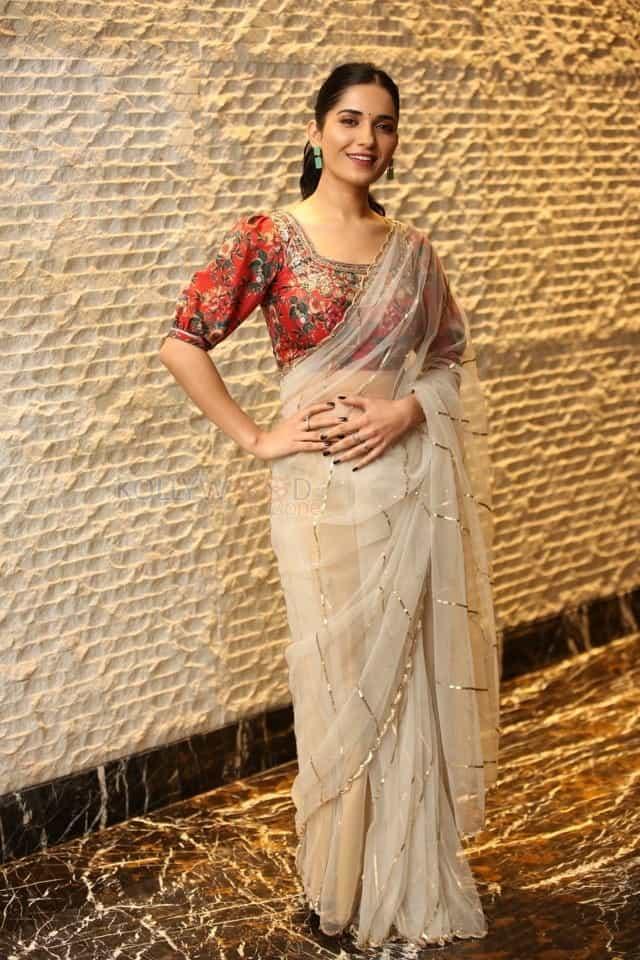 Actress Ruhani Sharma at Nootokka Jillala Andagadu Pre Release Event Photos 06