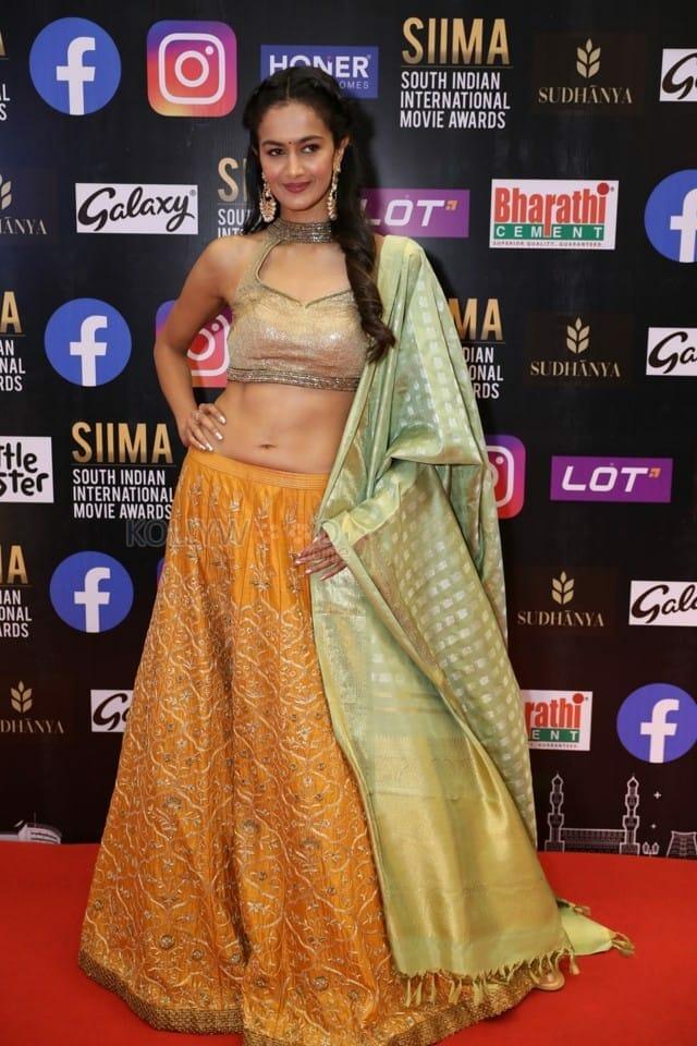 Shubra Aiyappa at SIIMA Awards 2021 Day 2 Stills 04