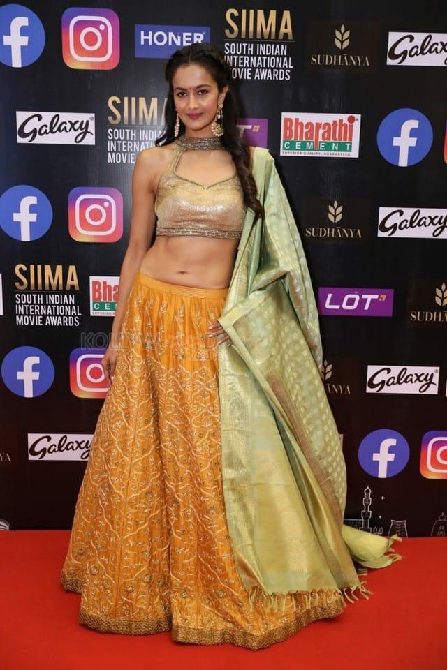 Shubra Aiyappa at SIIMA Awards 2021 Day 2 Stills 09